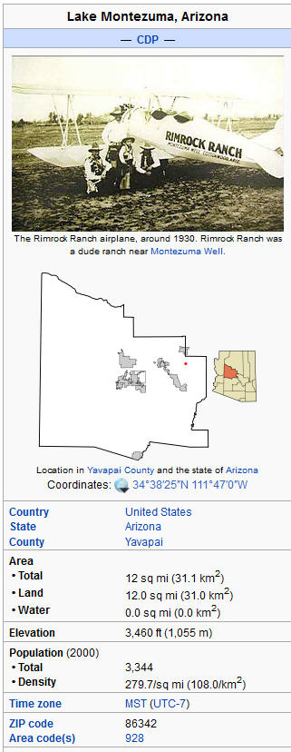 Rimrock Arizona real estate and foreclosures