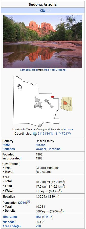Sedona AZ real estate and foreclosure homes