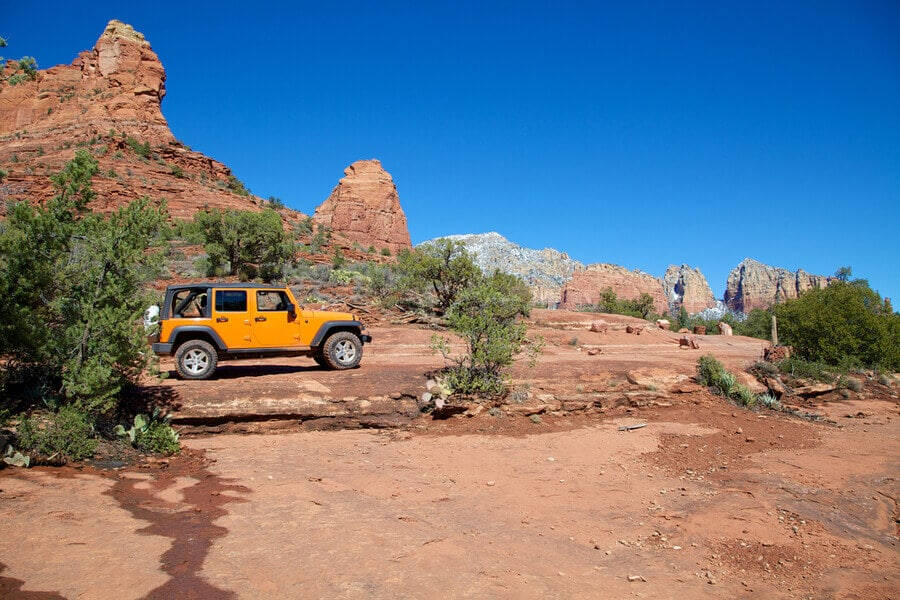 Take an off-road adventure on a Jeep tour